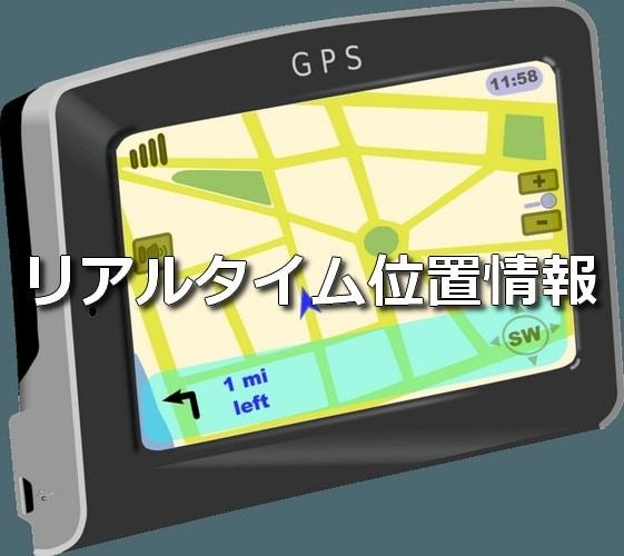 GPSリアルタイム