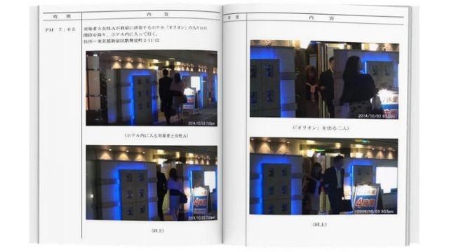 総合探偵社AMUSEu浮気証拠証拠写真